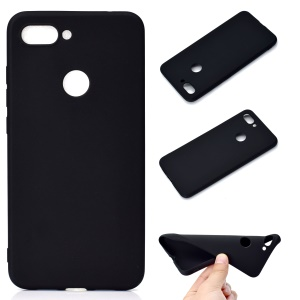 Soft Frosted TPU Case for Xiaomi Mi 8 Lite / Mi 8 Youth (Mi 8X) - Black