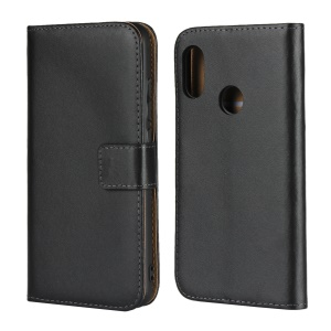 Genuine Leather Wallet Stand Mobile Cover for Xiaomi Redmi Note 6 Pro