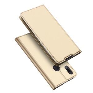 DUX DUCIS Skin Pro Series Leather Stand Shell Case for Xiaomi Mi Play - Gold