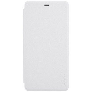 NILLKIN Sparkle Series Flip Leather Smart Case for Xiaomi Mi 5s Plus - White