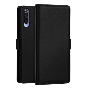 DZGOGO Milo Series Wallet Leather Stand Case for Xiaomi Mi 9 - Black