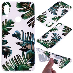 Pattern Printing TPU Shell for Xiaomi Redmi Note 7S /Note 7 / Note 7 Pro (India) - Leaves
