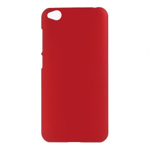Rubberized Hard PC Case for Xiaomi Redmi Go - Red