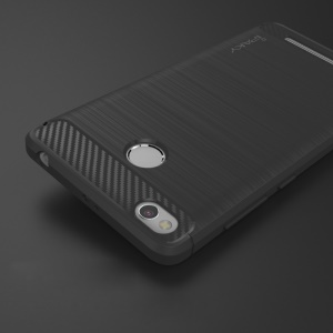 IPAKY Brushed TPU Back Case for Xiaomi Redmi 3s - Grey
