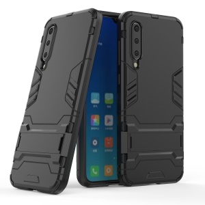 Legal Guarda Kickstand PC + Tampa Do Telefone Híbrido TPU Para Xiaomi Mi 9 SE - Preto