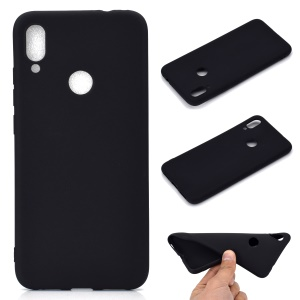 Soft Frosted TPU Case for Xiaomi Redmi Note 7S / Note 7 / Note 7 Pro (India) - Black