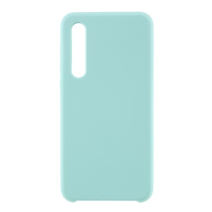 Rubberized Silky Silicone Case for Xiaomi Mi 9 SE - Baby Blue