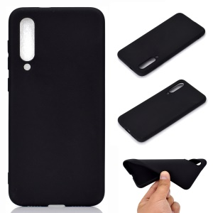 Soft Frosted TPU Case for Xiaomi Mi 9 SE - Black