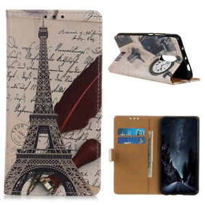 Eiffel Tower and Letters