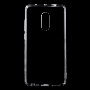 Clear Acrylic Back + Soft TPU Edge Mobile Phone Case for Xiaomi Redmi Note 4