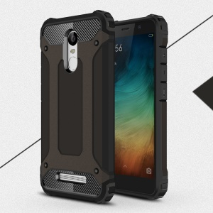 Armor Guard PC + TPU Hybrid Case for Xiaomi Redmi Note 3 - Black