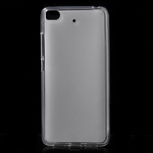 Double-sided Frosted TPU Phone Case for Xiaomi Mi 5s - Transparent