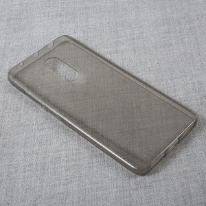 Ultra Thin Clear TPU Phone Case for Xiaomi Redmi Note 4 - Grey