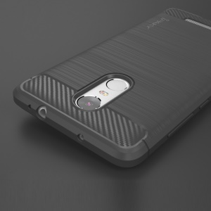 IPAKY Brushed TPU Back Case for Xiaomi Redmi Note 3 / Note 3 Pro - Grey