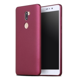 X-LEVEL Guardian Series Frosted TPU Back Cover for Xiaomi Mi 5s Plus - Wine Red