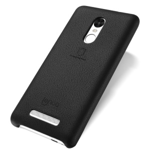 LENUO Music Case II for Xiaomi Redmi Note 3 Pro Special Edition Leather Coated Hard Phone Cover - Black