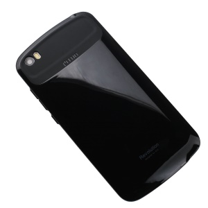 Glossy 2-in-1 PC + TPU Combo Mobile Phone Case for Xiaomi Mi Note - Black