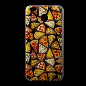 Patterned Printing Ultra Thin TPU Phone Casing for Xiaomi Redmi 4X - Pizza