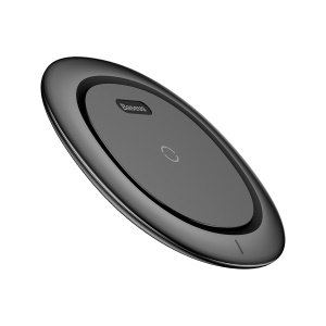 BASEUS UFO Qi Ultra-thin Wireless Charging Pad for iPhone X/8/8 Plus, Samsung Note 8 - Black