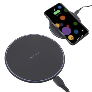 KD-1 Qi Standard Wireless Fast Charging Pad for for iPhone X, Samsung Note 8 Etc.