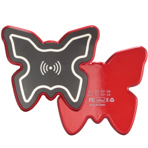 H1 Butterfly Shape Qi Wireless Charger for iPhone Samsung etc.