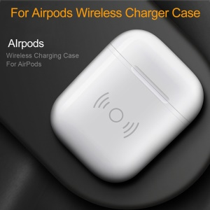 Wireless Charging Case for Apple Airpods Qi Standard Airpods Wireless Charging Receiver Cover