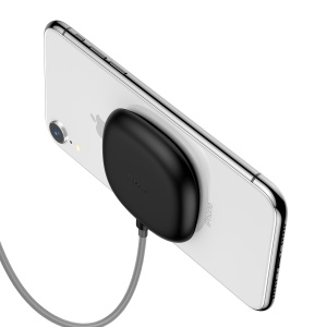 BASEUS BSWC-P23 Wireless Charger [with Suction Cup] - Black
