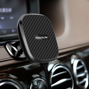 NILLKIN Car Magnetic Wireless Charger Suction Phone Holder for iPhone X/8 Plus/8 - C Style