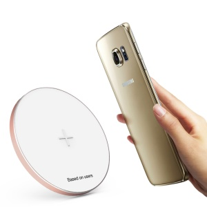 BASEUS Flare Series Circle Wireless Charger Pad for Samsung Note5/S6 Edge