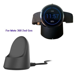 Wireless Charger Cradle Dock for Moto 360 2nd Gen 42mm & 46mm Smart Watch