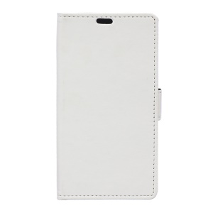 Wallet Leather Stand Cover for Alcatel One Touch Pixi First - White