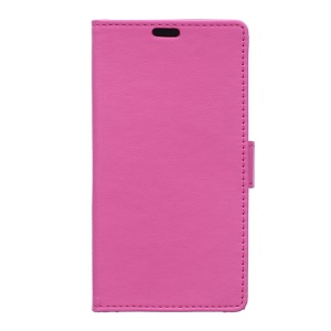 Faux Leather Case Card Holder for Alcatel OneTouch Pixi 4 (4.0-inch) - Rose
