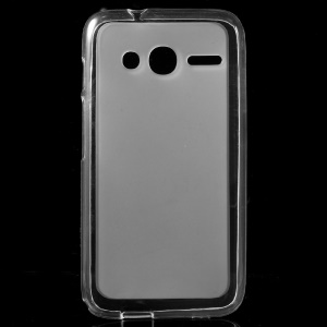 Double-sided Matte TPU Shell Case for Alcatel OneTouch Pixi 4 (4) - Transparent