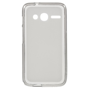 Double-sided Matte TPU Shell for Alcatel OneTouch Pixi 4 (4) - Grey