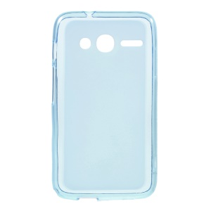 Double-sided Matte TPU Cover for Alcatel OneTouch Pixi 4 (4) - Blue