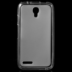 Double-sided Matte TPU Case for Alcatel OneTouch Pixi 4 (3.5) - Transparent