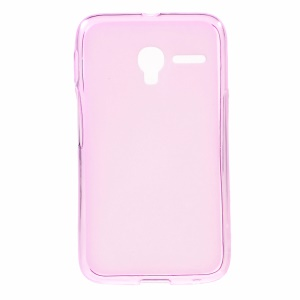 Double-sided Matte TPU Shell Case for Alcatel One Touch PIXI 3 (3.5) - Rose