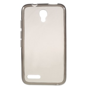 Grey TPU Phone Protective Cover for Alcatel OneTouch Pixi 4 (3.5)