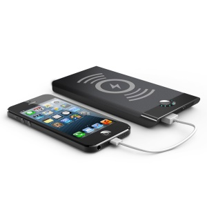 CYSPO 6688 Qi Wireless Charging Pad + 4000mAh Power Bank with USB Output