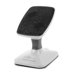 ASHUTB ABS-Q1 Qi Wireless Charger Charging Pad for iPhone Samsung Sony LG - White
