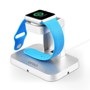 OPSO MFi Certified Magnetic Charging Dock for Apple Watch with Detachable Cable
