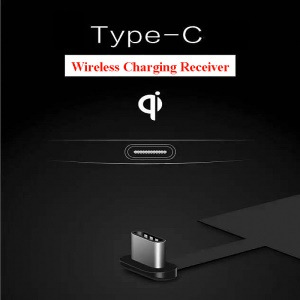 Type-C Qi Wireless Charging Receiver for Huawei P9 / LG G5 / HTC 10 etc