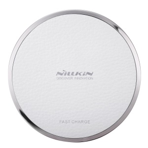 NILLKIN Magic Disk III Fast Charge Wireless Charger for Samsung S7/S7 Edge Etc - White