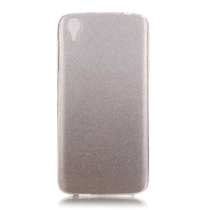 Glittery IMD TPU Gradient Powder Cover for Alcatel OneTouch Idol 3 (4.7) - Grey
