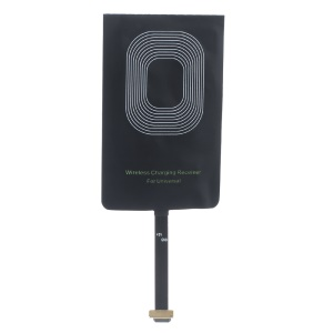 Universal CE FCC RoHS Qi Wireless Charging Receiver for Micro-USB Android Phones (Narrow-interface Up)