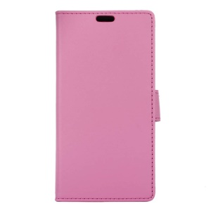 Magnetic Leather Stand Case for Alcatel Dawn 5027 - Rose