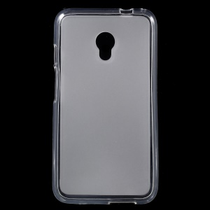 Double-sided Matte TPU Gel Case for Alcatel Pixi 4 (5) 4G - Transparent