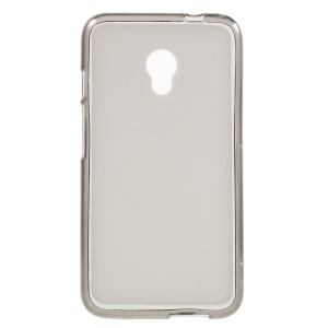 Double-sided Matte TPU Back Cover for Alcatel Pixi 4 (5) 4G - Grey