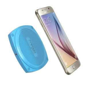 MESKEY Qi Wireless Charger Charging Pad for Samsung S7/S7 Edge Etc (MS-W6) - Blue