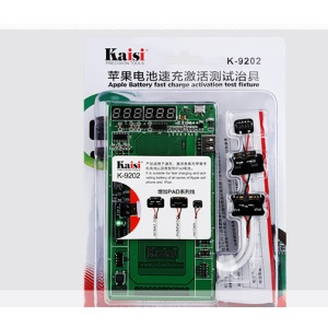 KAISI K9202+ Battery Charging Activation Test Fixture for iPhone iPad